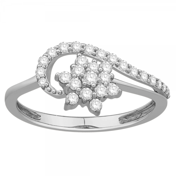 Gorgeous Casual Diamond Rings for Women JFG1359W