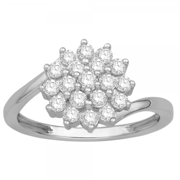 Gorgeous Casual Diamond Rings for Women JFG1366W