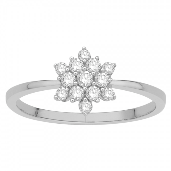 Gorgeous Casual Diamond Rings for Women JFG1808W