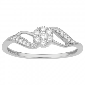 Gorgeous Casual Diamond Rings for Women JFG1812W