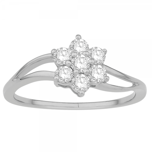 Gorgeous Casual Diamond Rings for Women JFG1839W