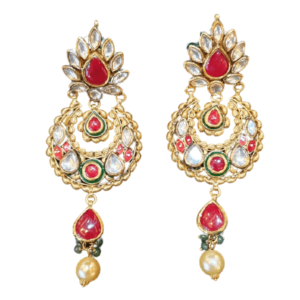 Stunning Gold Earrings for Women KANTEY212