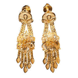 Stunning Gold Earrings for Women KANTEY226