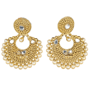 Stunning Gold Earrings for Women KANTEY26