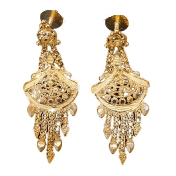 Stunning Gold Earrings for Women KANTEY344