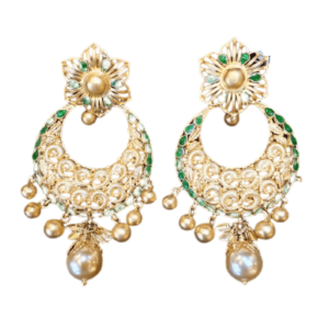 Stunning Gold Earrings for Women KANTEY443