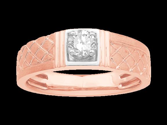 Men Solitaire Diamond Engagement Ring LWM00577CP