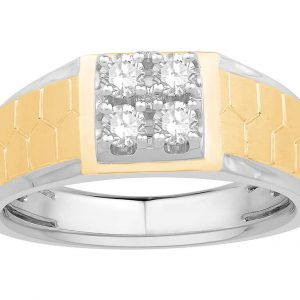 Men Traditional Diamond Engagement Ring LWM00635CP