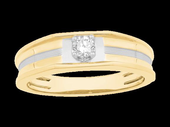 Men Solitaire Diamond Engagement Ring LWM00661CP