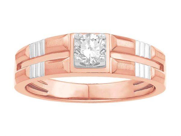 Men Solitaire Diamond Engagement Ring LWM00762CP