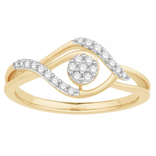 Gorgeous Casual Diamond Rings for Women MIL1514YR