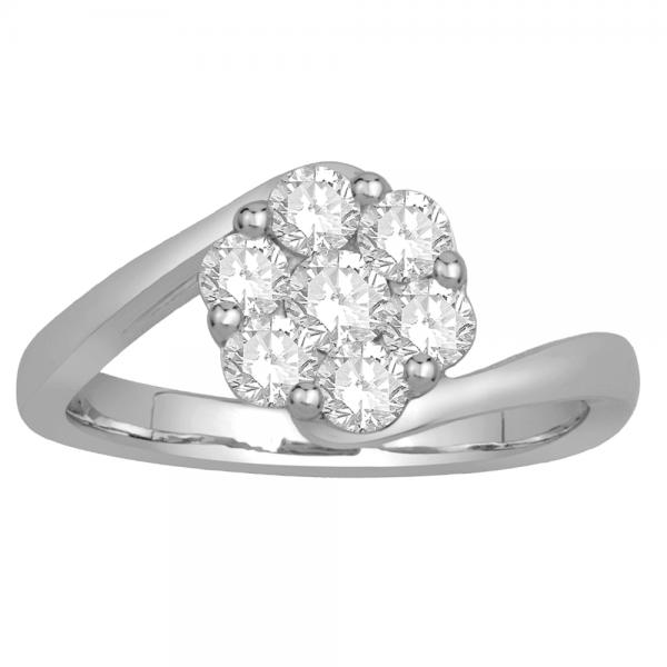 Gorgeous Casual Diamond Rings for Women MJB772W