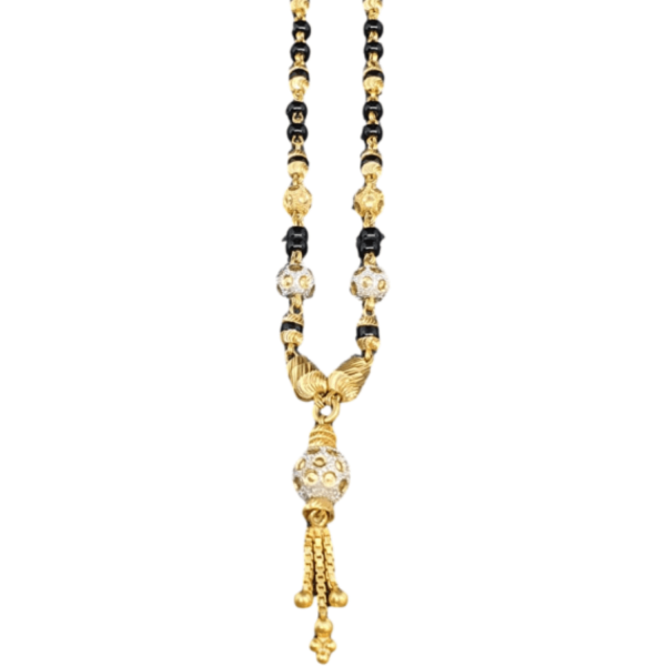 Reliable Gold Mangalsutra for Women MS190