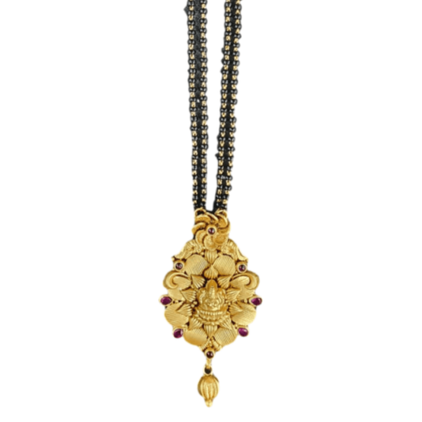 Reliable Gold Mangalsutra for Women MS238