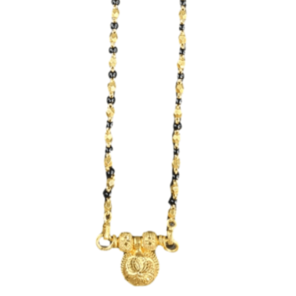 Reliable Gold Mangalsutra for Women MS294