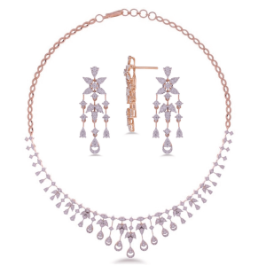 Exclusive Diamond Necklace Set for Women NS13140A0A