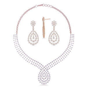 Exclusive Diamond Necklace Set for Women NS13142A0A