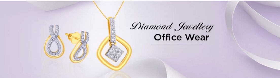Office Wear Diamond Jewellery