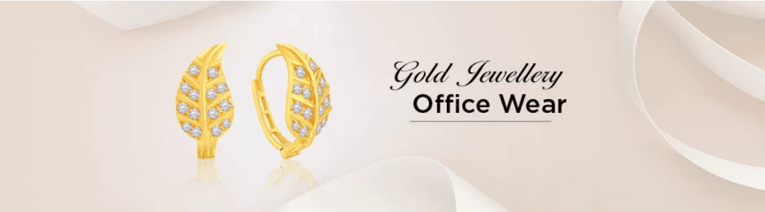 Office Wear Gold Jewellery Collection