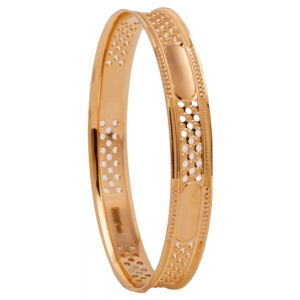 Dazzling Gold Bangles for Women P100610