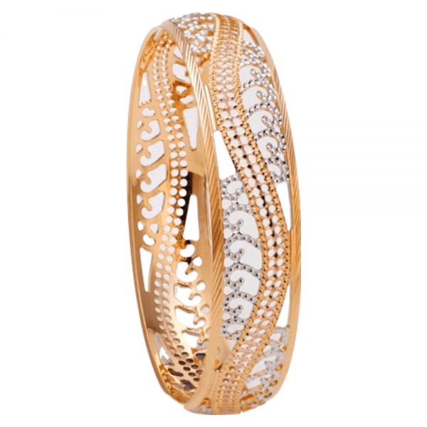 Dazzling Gold Bangles for Women P103166