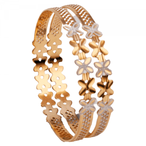 Dazzling Gold Bangles for Women P103418