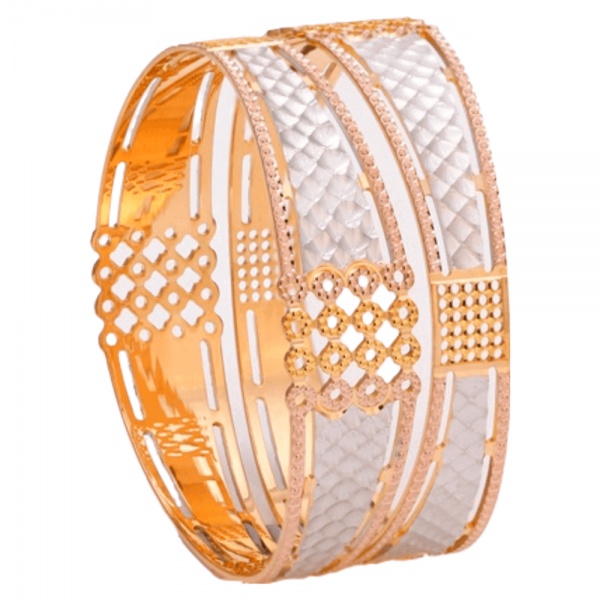 Dazzling Gold Bangles for Women PB100655