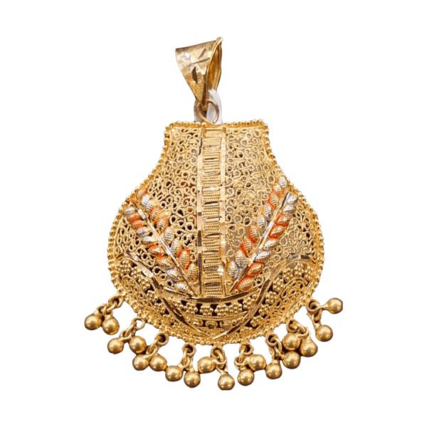 Stunning Gold Pendants For Women PENDANT15