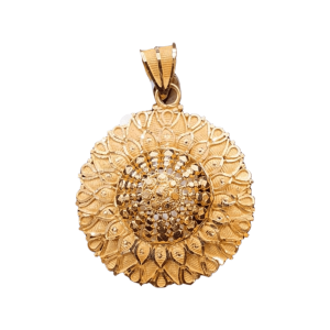 Stunning Gold Pendants For Women PENDANT541