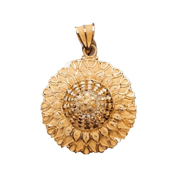 Stunning Gold Pendants For Women PENDANT541
