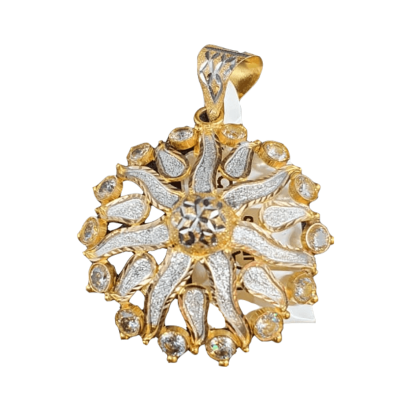 Stunning Gold Pendants For Women PENDANT555