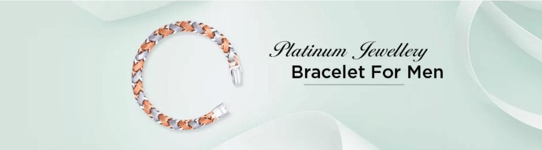 Platinum Bracelet for Men