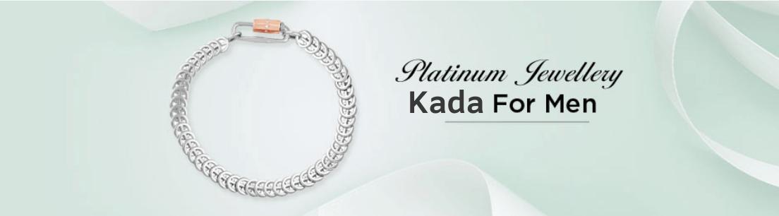 Platinum Kada for Men