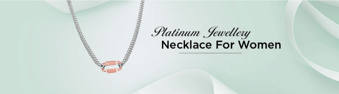 Platinum Necklace for Women