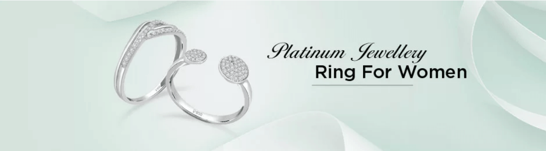 Platinum Ring for Women