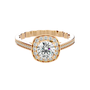 Solitaire Diamond Engagement Ring R0043
