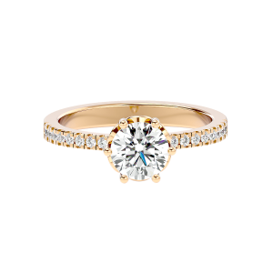 Solitaire Diamond Engagement Ring R0229