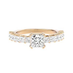 Solitaire Diamond Engagement Ring R0232