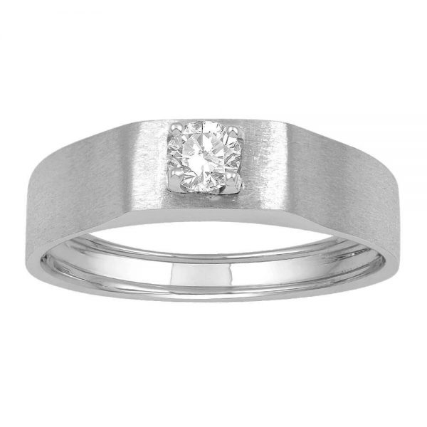 Men Solitaire Diamond Engagement Ring R2591CP