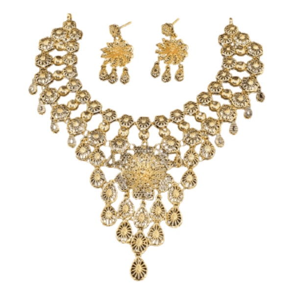 Exclusive Gold Necklace Set for Women SET743