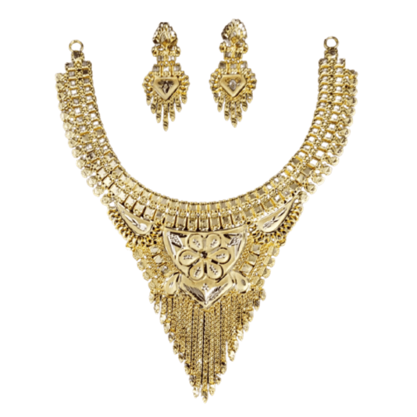 Exclusive Gold Necklace Set for Women SET762