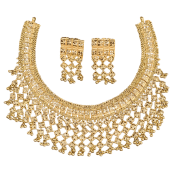Exclusive Gold Necklace Set for Women SET763
