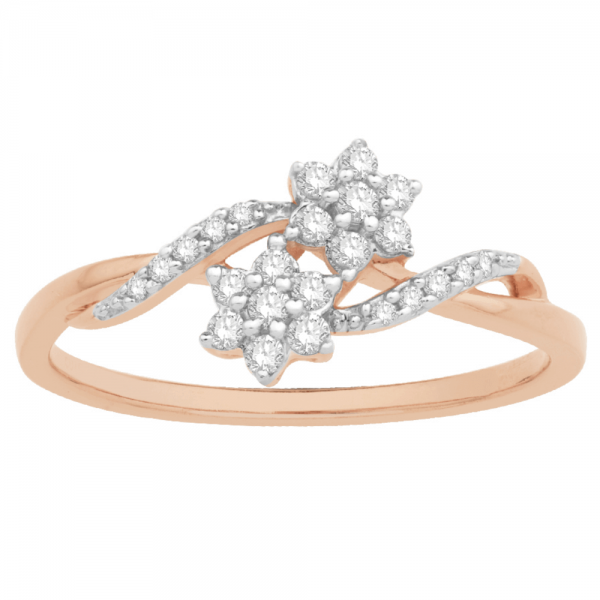 Gorgeous Casual Diamond Rings for Women SIL044PR