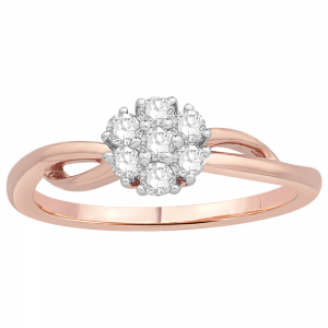 Gorgeous Casual Diamond Rings for Women SIL215PR