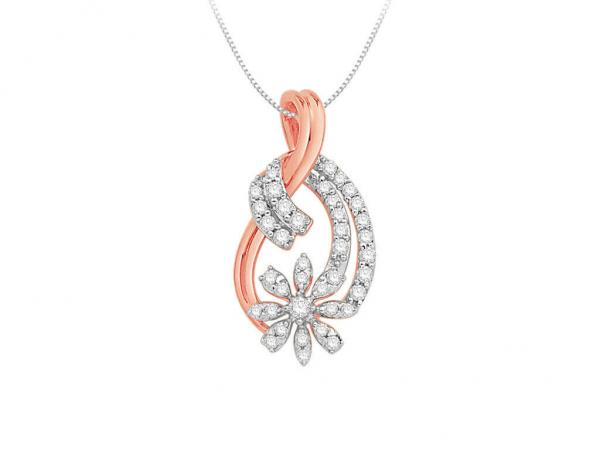 Diamond Pendant for Women SIL253PR