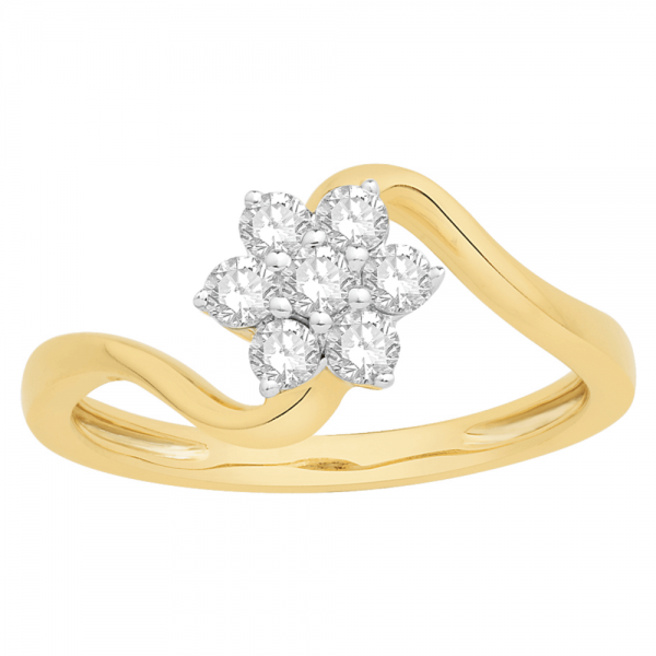 Gorgeous Casual Diamond Rings for Women SIL285YR