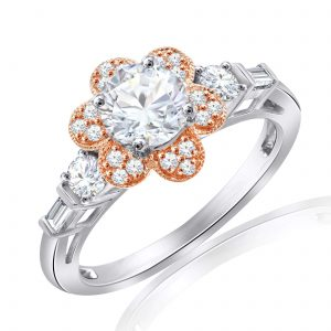 Premium Solitaire Diamond Engagement Ring for Women SMRSJ01513