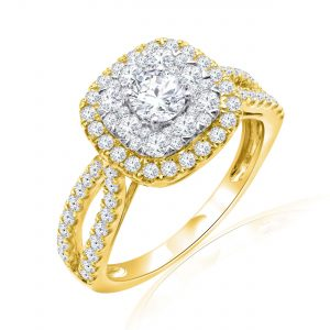 Premium Solitaire Diamond Engagement Ring for Women SMRSJ01676