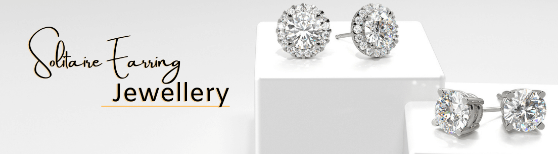 Solitaire Diamond Earring Jewellery Collection