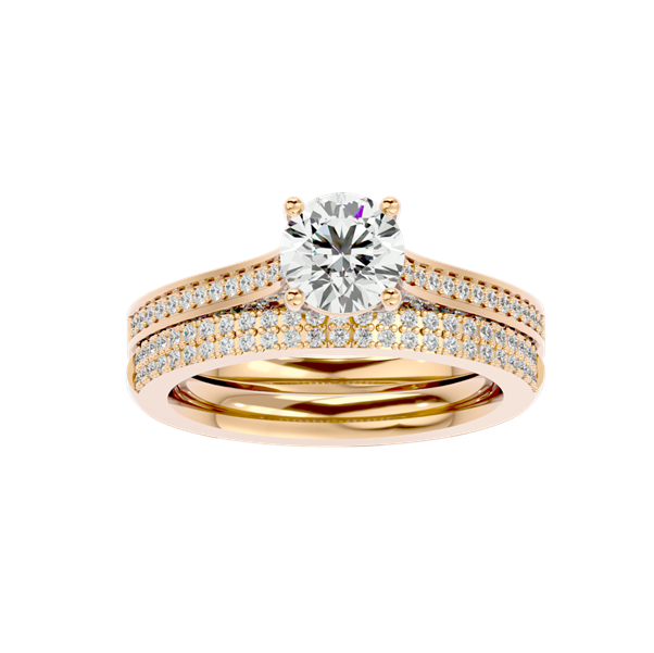 Solitaire Diamond Engagement Ring R0041